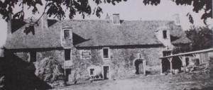 Le manoir de Lourmois en 1980