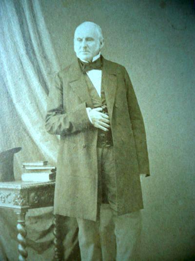 Sir Anthony George Perrier (1793-1876), consul du R.U. à Brest. (Photo fonds privé Jenkins Le Roux)