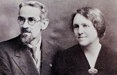 M. et Mme Johnson vers 1935.