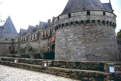 L'entrée du château de Pontivy.