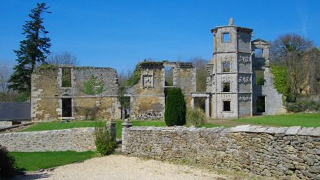 La façade du château de La Garaye aujourd'hui.