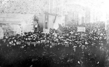 Lors des inventaires à Saint-Servan en mars 1906