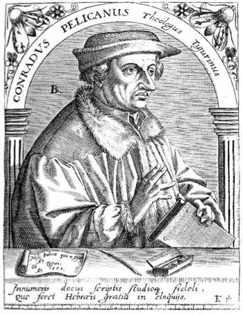 Conrad Pellican (image wikipedia)