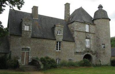 L'aile conservée de l'ancien château de La Vieuville