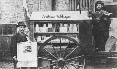 La voiture biblique de Trémel en 1887