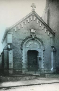Le temple de Saint-Nazaire avant 1944