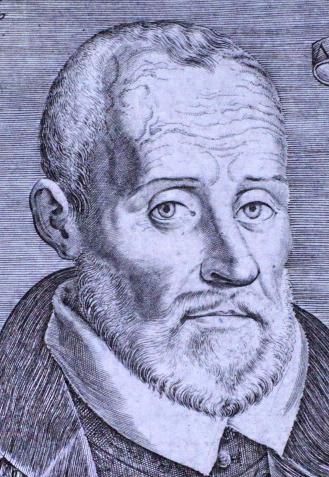 Bertrand d'Argentré. Gravure du début du XVIIe siècle
