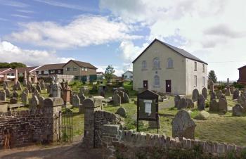 Le temple baptiste de Hengoed (Pays-de-Galles) aujourd'hui.