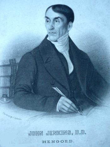 Le théologien John Jenkins, de Hengoed