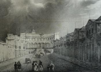 Hôpital Marine Brest 1836