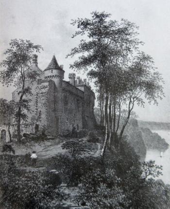 Roche-Jagu en 1866 350pix
