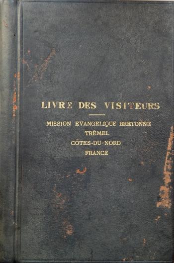 Trémel Livre des visiteurs
