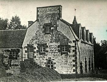 Trémel, le temple, vue arrière, 1910