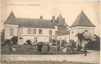 Le château de Saffré. carte postale