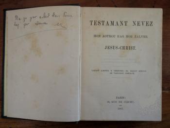 Nouveau Testament jenkins 1885