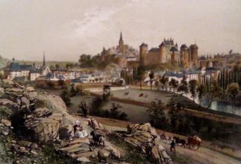 Vitre en 1865
