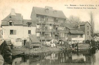 Chateau branlant rue de Saint-Malo à Rennes